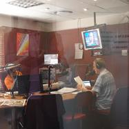 "The Board and  its guests at the ""Veritas"" radio station in Johannesburg"